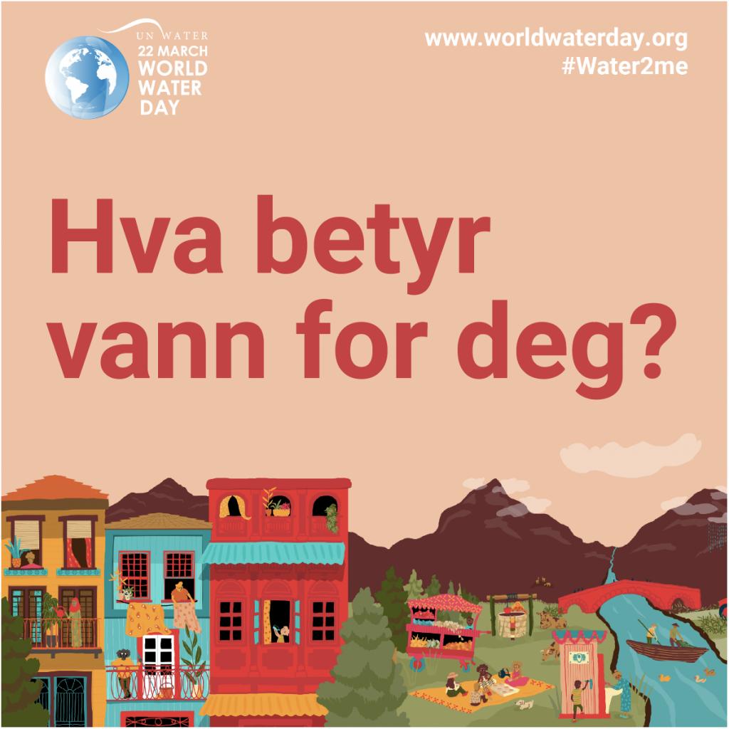 World water day 2021 – Hva betyr vann for deg?